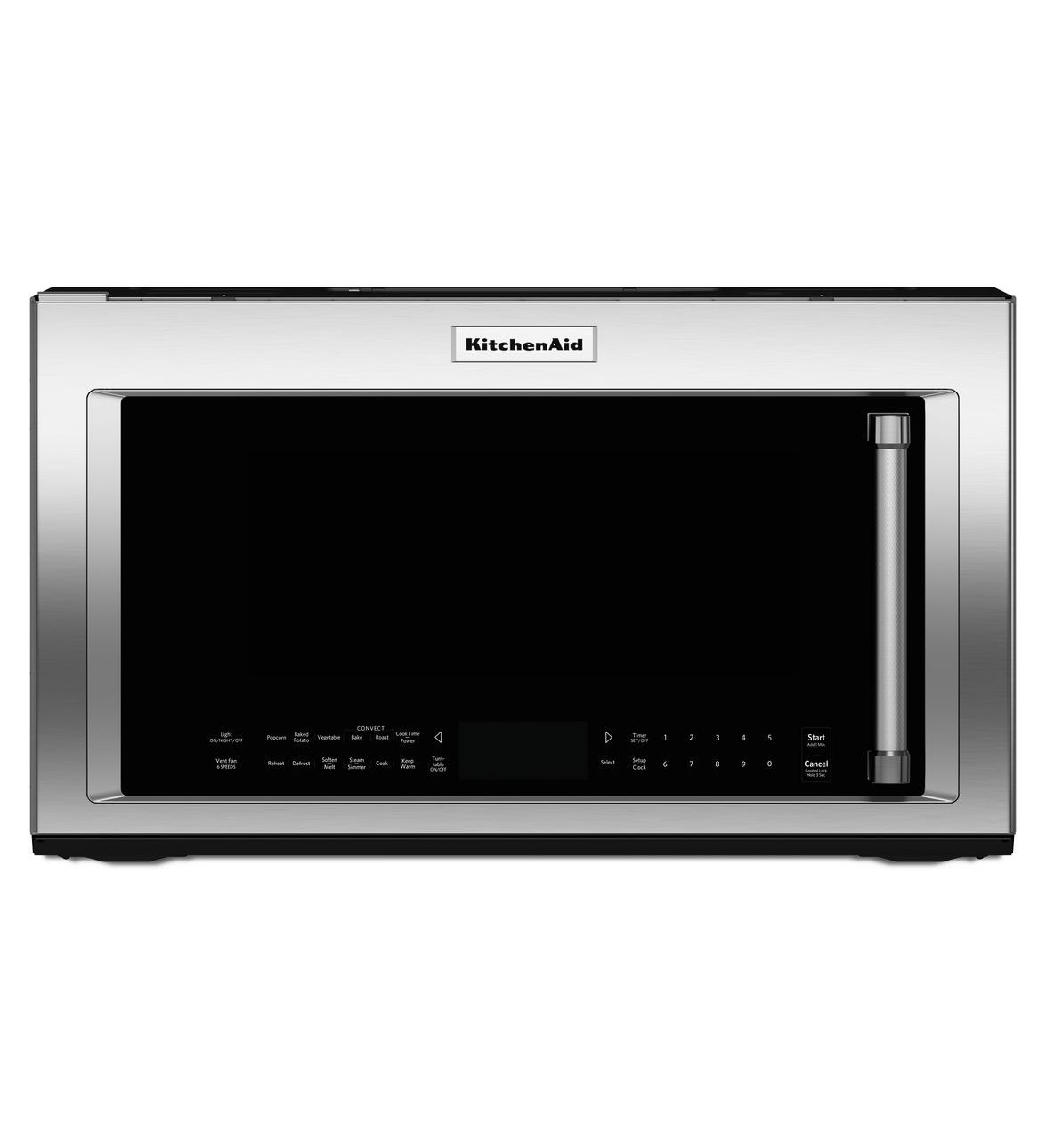 Kitchenaid 1000 Watt Convection Microwave With High Sd Cooking 30 Kmhc319ess Low Cost Liance
